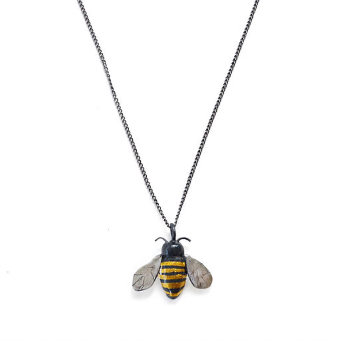 Acanthus Bumblebee Necklace - Outlette Jewelry