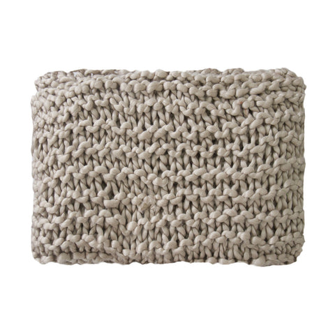 Superknit Moss Stitch Throw