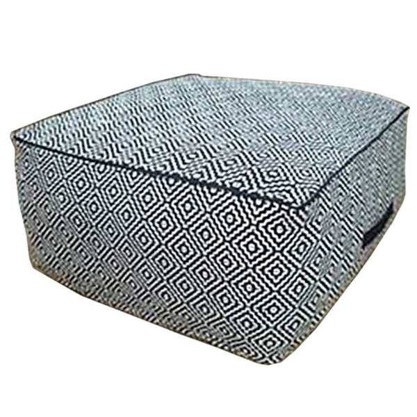 Diamond Floor Pouffe