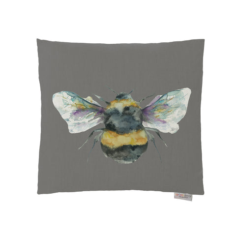 Bee Cushion - slate