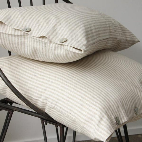 Federation Linen Ticking Striped Pillow slip