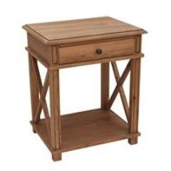 Villa Bedside Table - Oak