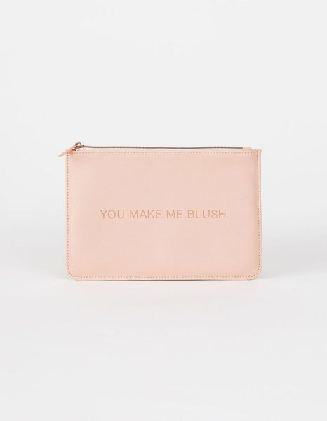 You Make Me Blush Pouch