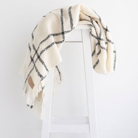 Pure NZ Wool Throw Cream