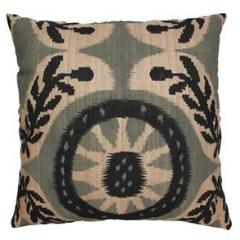 Melibar Grey and Black Cushion