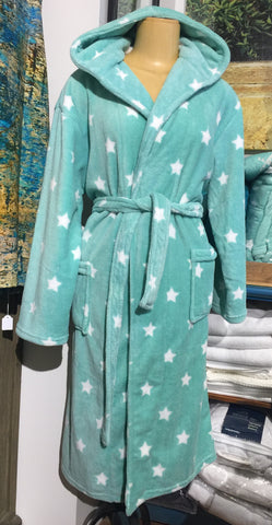Polar Fleece Bathrobe