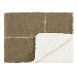 Sherpa Throw Olive