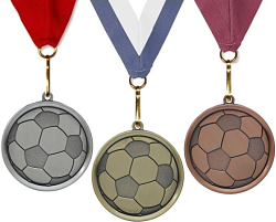 Mega Soccer Medal For Boys and Girls Free Engraving!