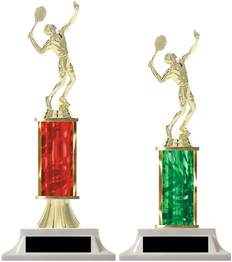 Column Trophies Tennis (Male) with Free Engraving
