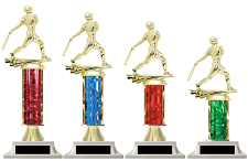 Baseball Column Trophy - Choose a Color | Build-a-Trophy