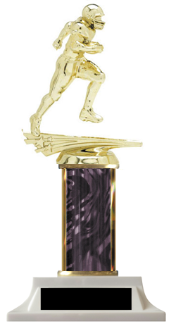 Football Column Trophy Great Price Design Your Own
