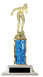 Column Trophy Male Swimmer Customize Yours