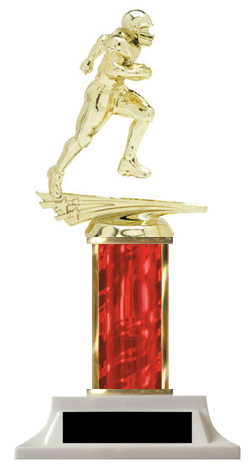 Football Column Trophy Great Price Design-Your-Own
