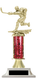 Hockey Column Trophy Multiple Color Options Free Customization