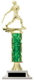 Wow! Green Column Baseball Trophy - Make It How You Like