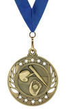 Baseball Medal | Blue Neck Ribbon