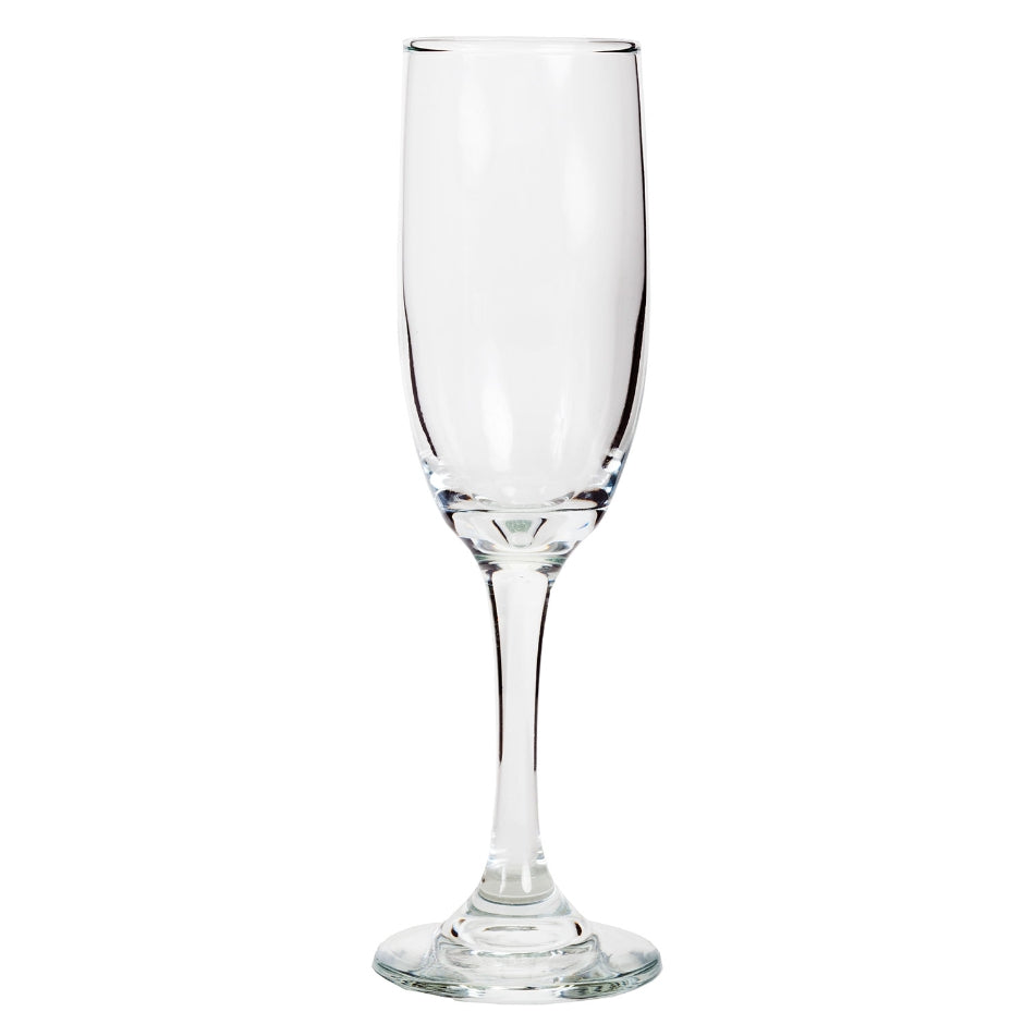 Tapered Champagne Glass with Free Laser Etching