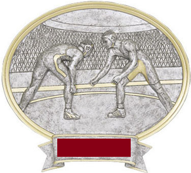 Wrestling Sports Legend Resin - Dual Purpose