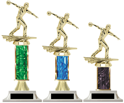 Column Trophies Male Bowling Unbeatable Prices Build-Your-Own