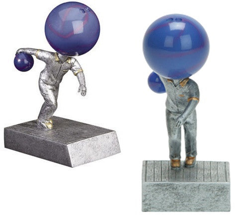 Bowling Bobble Head Trophy with FREE PERSONALIZATION