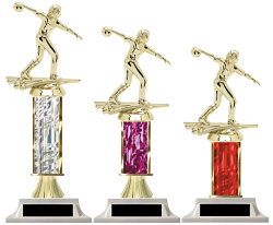 Column Trophy Female Bowler Unbeatable Prices Build-Your-Own
