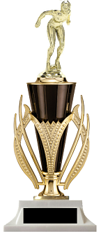 Girls Swimming Cup Trophy Victory Edition