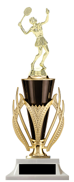 Female Tennis Cup Trophy Victory Edition