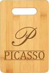 Last Name Personalized Bamboo Cutting Board - 3 Sizes!
