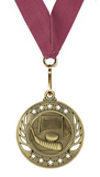 Hockey Medal Mega Medallion Gold, Silver & Bronze