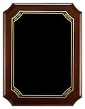 Rosewood Stained Piano Finish Plaque