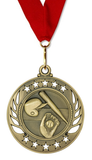 Red Neck Ribbon | Baseball Medal