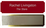 "Painter's Edition Personalized Tags Metal 1"" x 4"""