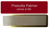 "Painter's Edition Personalized Tags Metal 1"" x 3"""