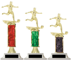 Boys Soccer Edition Column Trophies Build Your Own