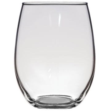 Stemless Wine Glass with Personalized Laser Etching