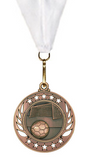 Rising Star Medal Boys & Girls Soccer Customize Your Own