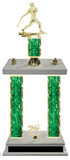 Baseball Double Column Trophy 8 Color Options