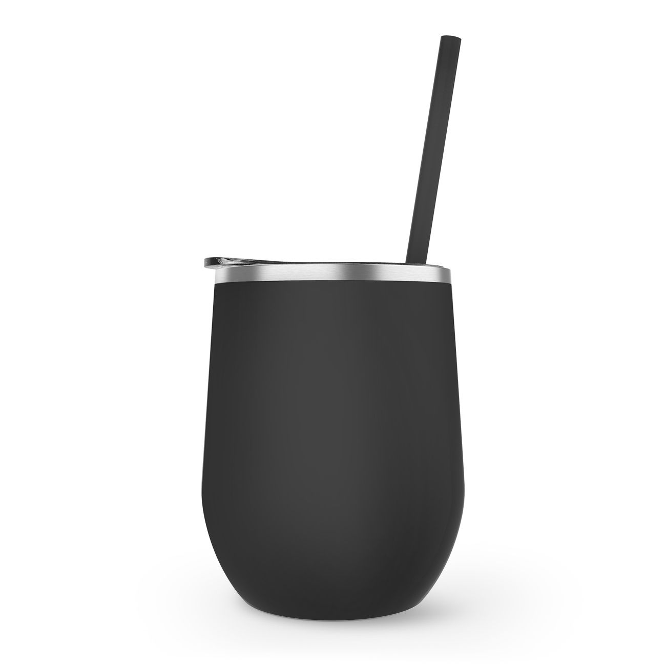 Maars Stemless Stainless 12oz.  | Matte Black