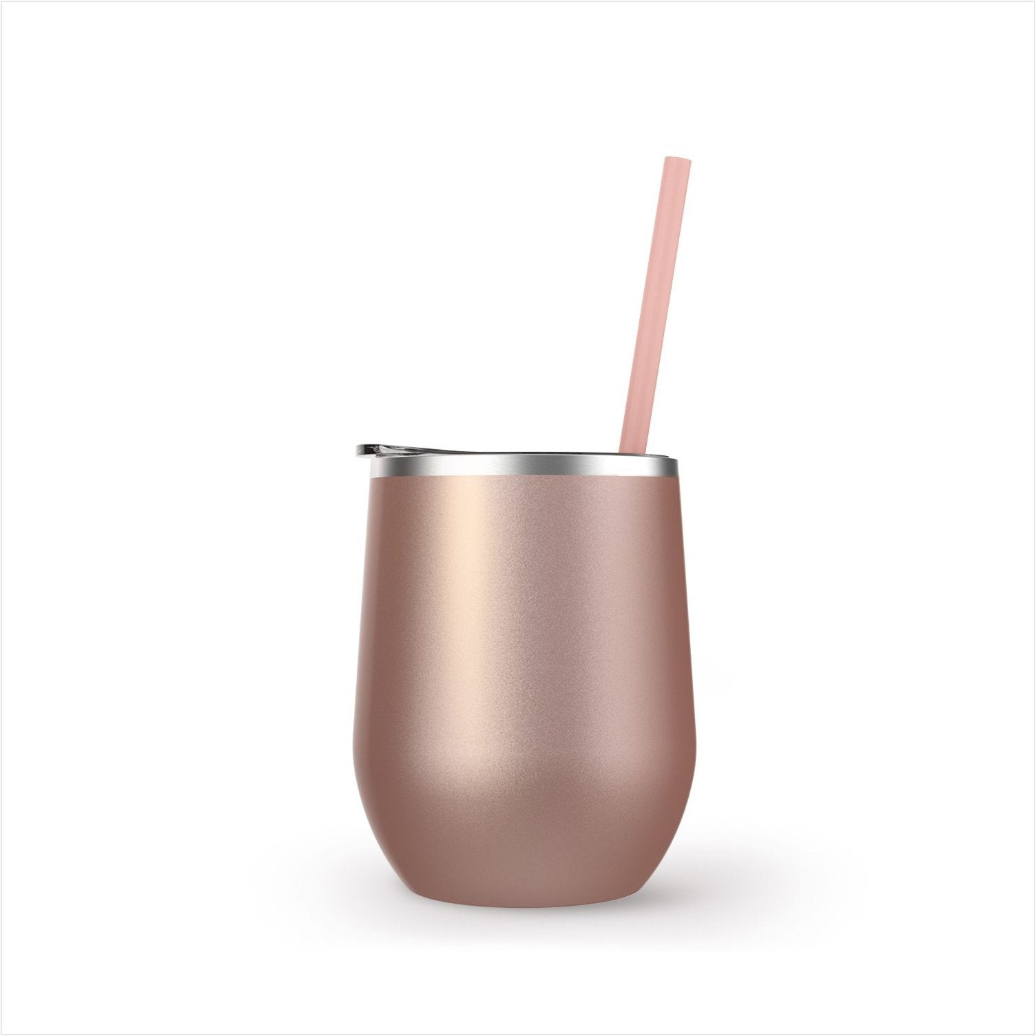 Maars Stemless Stainless 12oz.  | Rose Gold
