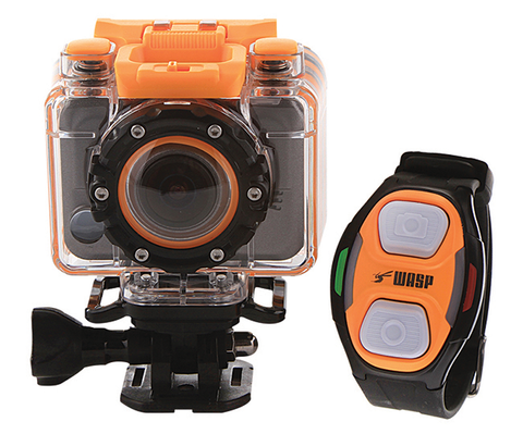 WASPcam 9900 Action Sports Camera W/Wrist Controller
