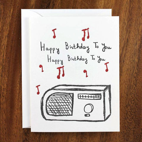 Radio Birthday