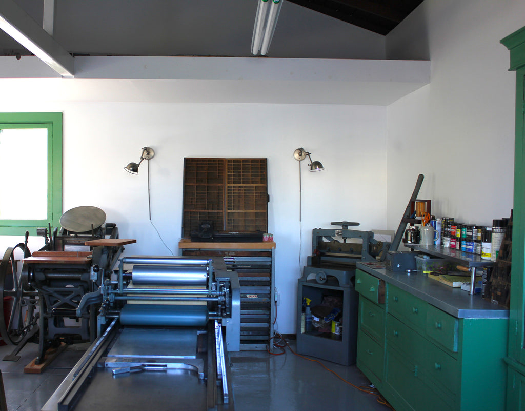 Letterpresss Lowdown Workshop:  Old School Stationery