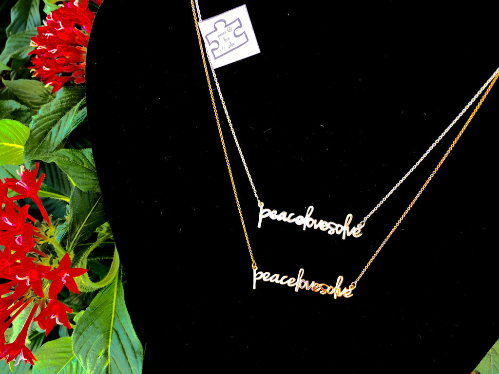 peacelovesolve Necklace