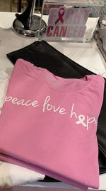 Peace Love Hope - Pink