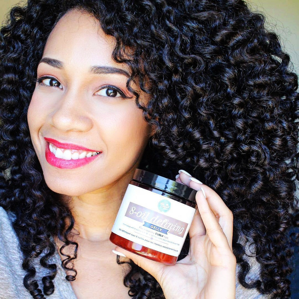 Amber Janielle's Best Wash and Go Using Up North Naturals!