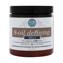 Load image into Gallery viewer, Front image of 8-oil defining gelly for naturally curly hair