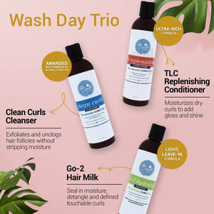 Wash Day Trio Infographic