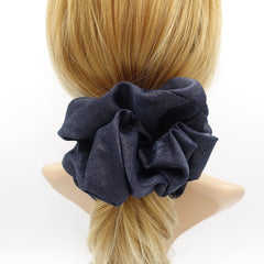 sparkly oversized scrunchies large hair scrunchies hair accessory for women - veryshine.com