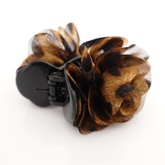VeryShine claw/banana/barrette Handmade 3 prong Flower Floral  Lovely Long Height Hair Jaw  Claw Clip