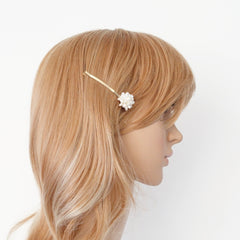 veryshine.com Barrettes & Clips a set of 2 pearl decorated hair clip women hair accessory